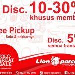 Diskon 30% LION PARCEL