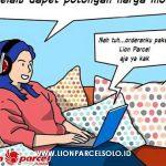 social distace lion solo